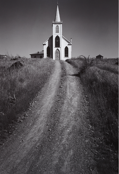 Church and Road, Bodega, California