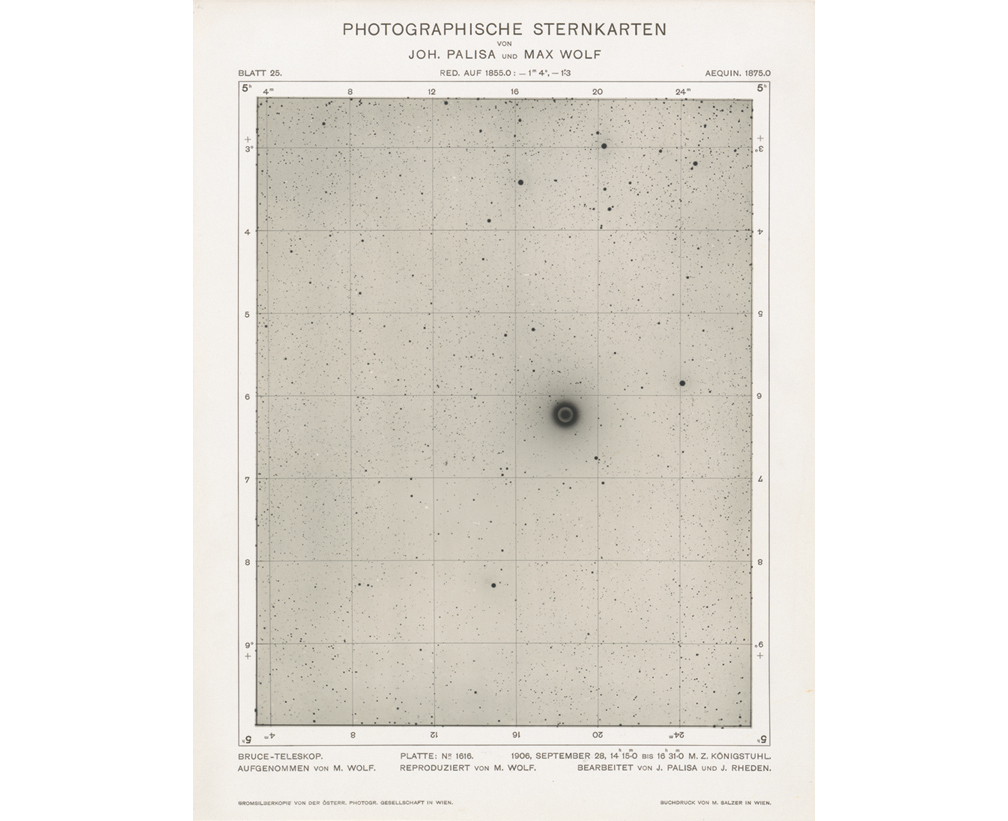 Plate from Photographische Sternkarten (Photographic Star Maps)