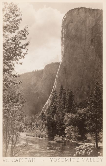 El Capitan—Yosemite Valley, postcard, undated