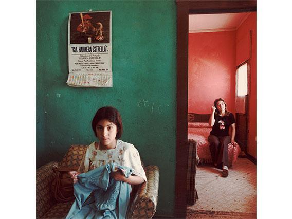 "Louis Carlos Bernal, ""Dos Mujeres, Douglas, Arizona"", 1978, Gift of the Mexican American Legal Defense & Educational Fund, © Lisa Bernal Brethour and Katrina Bernal. 82.77.87"
