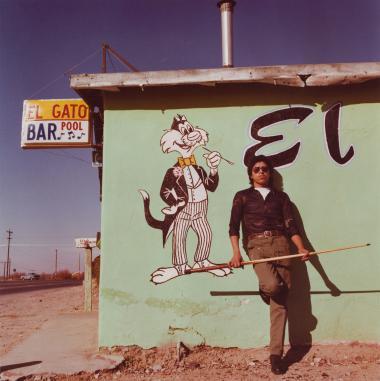 Louis Carlos Bernal, El Gato, Canutillo, New Mexico, 1979, Gift of Morrie Camhi, © Lisa Bernal Brethour and Katrina Bernal. 97.46.38